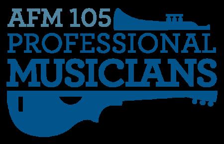American Federation of Musicians 105 Logo
